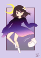 【繪集】魔法雨女!參上!