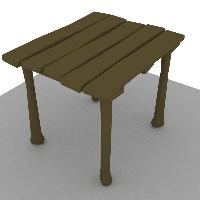 萬年老木桌